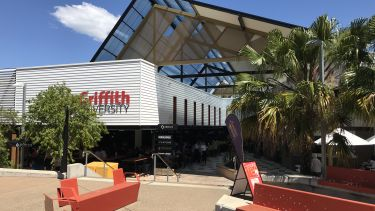 Food court at Griffith University