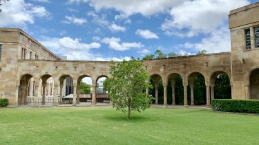 The Great Court, St. Lucia Campus, University of Queensland, Brisbane