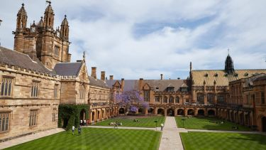 The campus of University of Sydney