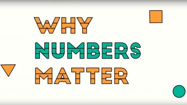 Text that says Why Numbers Matter