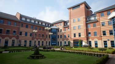 SCHARR Regent Court building and courtyard