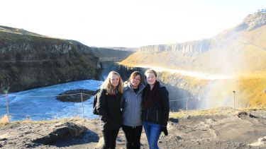 Landscape students in Iceland