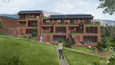 Winning project by SSoA students for Passivhaus competition
