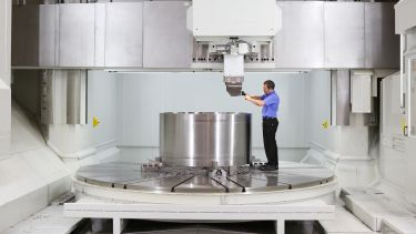A man uses a machine at the AMRC Nuclear - image