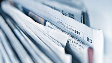 A bunch of business newspapers
