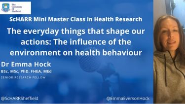 Everyday things that shape our actions: The influence of the environment on health behaviour