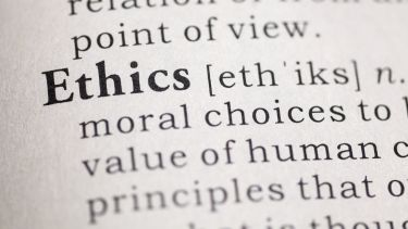 Ethics dictionary image