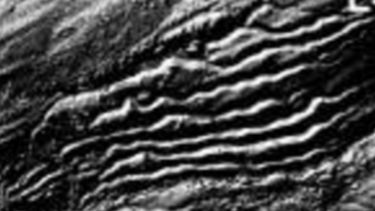 Lateral meltwater channels, formed by water flowing at the side of an ice sheet.