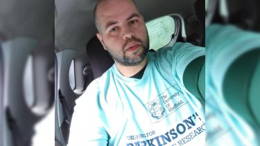 David fundraising for Parkinson's disease