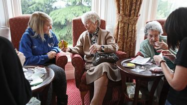Sustainable care demonstrated within a care home