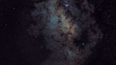 An image of the milky way galaxy
