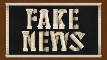 Greek fake news graphic