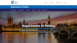 How the new Politics homepage looks like