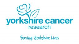 Yorkshire Cancer Research logo. Saving Yorkshire Lives.