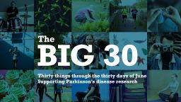 The Big 30 - a collage of images showing a variety of activities