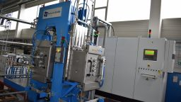 A photo of the FTC Systeme GmbH Spark Plasma Sintering machine