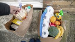Volunteering: food and grocery shopping delivered to doorstep