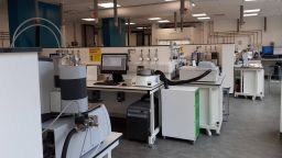 A photo of the basic characterisation lab