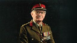 Colonel Leslie Wright in his military uniform