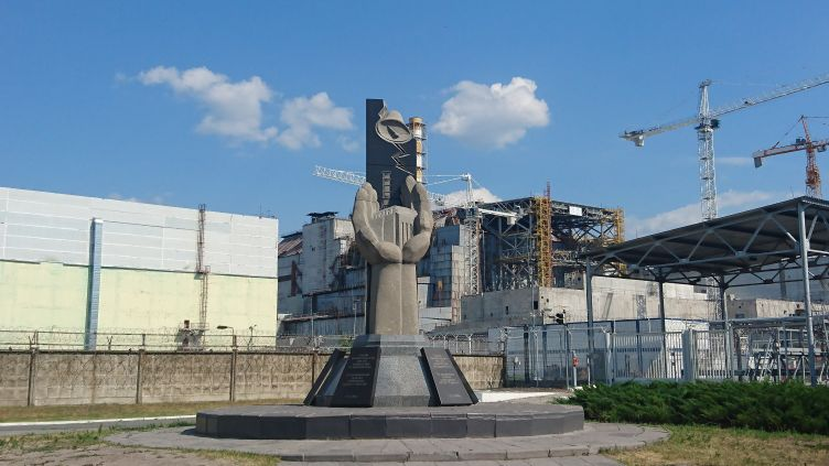 Chernobyl disaster site